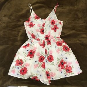 H&M Divided Floral Romper